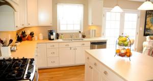 virtuves tīrīšana