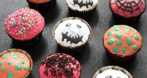 Helovīnu Kēksiņi Ar Melleņu Ievārījumu