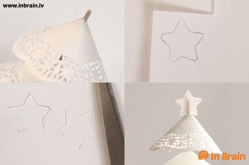 ziemassvētku egle no papīra