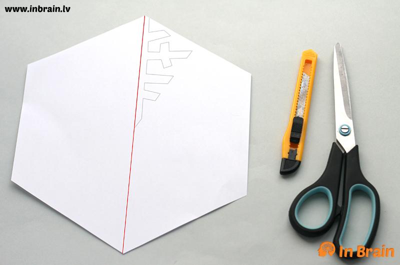 papīra sniegpārsliņa