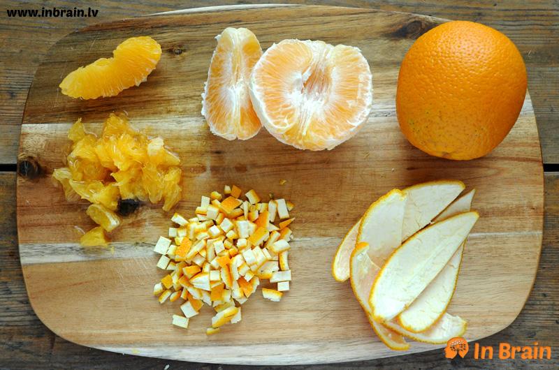 rabarberu apelsīnu ievārījums