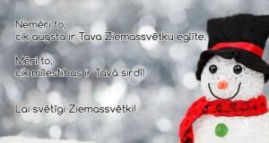 ziemassvētku apsveikumi
