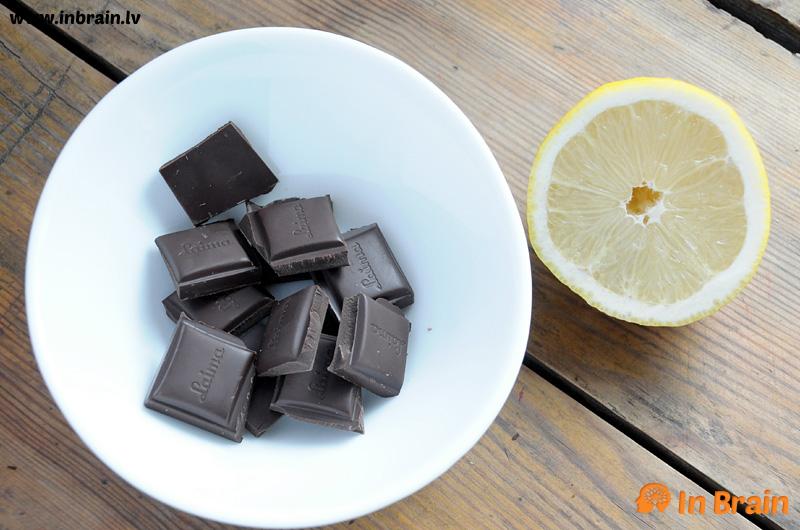 melnā šokolāde